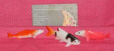 Fish,Trout,Cupcake or Cake topper,Plastic,DecoPac Multi-color,Decoration,6 ct.