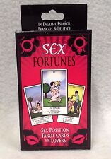 Fortuna Sexual Sex Fourtunes Sex Position Tarot Cards For Lovers Hot Spicy Gift