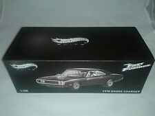 Hot Wheels Elite Fast & Furious Dodge Charger 1970 1/18