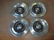 """1964 64 Mercury Comet Hubcap Rim Wheel Cover Hub Cap 14"""" OEM USED H7 SET 4"""