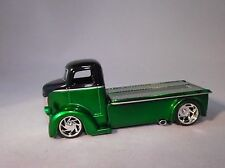 JADA 1947 FORD CAB OVER COE CAR TRANSPORT TRUCK RUBBER TIRE LIMITED EDITION