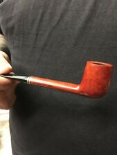 Calabresi Orange Smooth Unstamped Unfiltered Canadian Vintage Tobacco Pipe