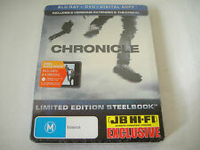 Chronicle (2012) - JB Hi-Fi Limited Steelbook Blu-Ray/DVD Region Free/4 | New