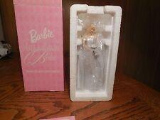 Barbie Millennium Bride Porcelain Christmas Ornament-- Avon 2000