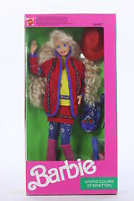 Barbie Doll United Colors Of Benetton 1990 Never Removed From Box Mattel