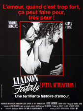 Affiche 40x60cm LIAISON FATALE /FATAL ATTRACTION 1987 Douglas, Glenn Close NEUVE