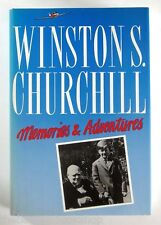 WINSTON S. CHURCHILL - MEMORIES & ADVENTURES - Hardback - 1st Edition