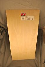 "Plywood 1/8"" x 12"" x 24"" Birch Model Lumber sheet craft 1pc #5306"
