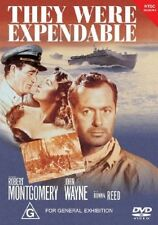 They Were Expendable (DVD) - John Wayne