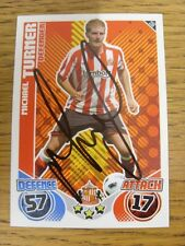 2010/2011 Autograph: Sunderland - Turner, Michael [Hand Signed 'Topps Match Atta