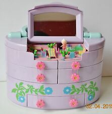 Vintage Polly Pocket Bluebird 1991 Vanity cases Pullout Playhouse