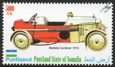 1913 BEDELIA Cyclecar Sports Car Automobile Stamp