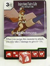 Yu-Gi-Oh Dice Masters - #053 Injection Fairy Lily - Forced Injection - Base Set