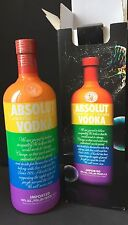 Absolut Vodka Colors 4,5 Liter Flasche 40%Vol. NEU OVP Voll Sealed