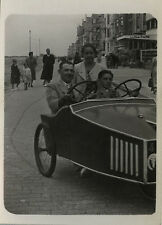 PHOTO ANCIENNE - VINTAGE SNAPSHOT - VOITURE À PÉDALES JOUET VOITURETTE -CAR 1939