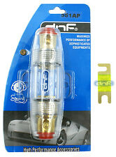 DNF PREMIUM 4 6 8 GAUGE ANL MINI FUSE HOLDER  + 100 AMP FUSE - SHIPS FREE TODAY!