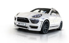 PORSCHE CAYENNE FULL WIDE BODY KIT 958 FRONT/REAR BUMPER, FENDER FLARES TURBO S