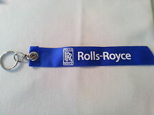 Rolls Royce I'd Rather Be Flying Flight Tag Keychain / New / Style 2