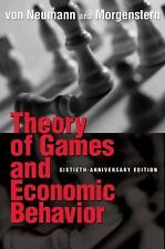 Theory of Games and Economic Behavior by Oskar Morgenstern and John Von...