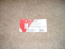 One Direction On The Road Again Tour 2015 Cardiff Car Park Pass Sat 6th June
