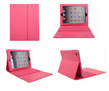 New Design Leather Bluetooth Wireless Keyboard Case Cover for iPad2 3 4 UK Gift