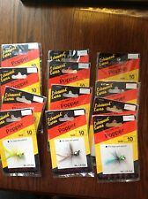 Lot -12 POPPERS South Bend Size 10 - varied colors LP10A Lakewood Lures fishing