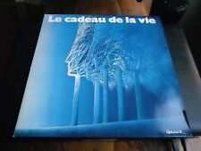 DOUBLE 33 TOURS / 2 LP--LE CADEAU DE LA VIE 1986--INDOCHINE/MAS/GOLD/BUSH/BIRKIN