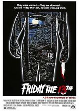 Friday the 13th - Jason Voorhees - Betsy Palmer - A4 Laminated Mini Poster