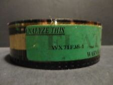 ANALYZE THIS  Movie 35mm Film Trailer film cell collectible  2:16 min/sec FLAT