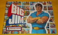 ALBUM FIGURINE PANINI di BIG JIM - 1977 - Vuoto ○○○○ Condizione più che BUONE