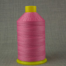 BONDED NYLON 12s 1,000m V STRONG SEWING THREAD PINK LEATHER CRAFT REPAIR 12 TKT