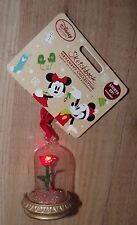 Disney Store Beauty And The Beast Rose Christmas Decoration ornament light up