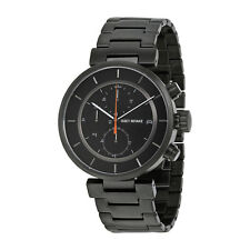 Issey Miyake W Black IP Steel Chronograph Mens Watch SILAY002