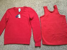 Women's NWT OLD NAVY Lot Of RED Sweater Pullover,Top Size XXL For Christmas Too