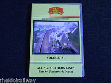 Along Southern Lines, Part 6 Somerset & Dorset, B & R Volume 181 DVD