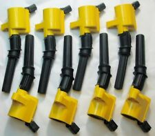 1997-2003 F150 5.4L  ONLY!! 8 Heavy Duty Ignition Coils DG-508 YELLOW