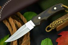 Custom High Carbon Steel Hunting Knife Hand Made No Damascus (R18-H)