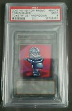 "PSA 9 Yugioh Black Ojama Token TKN2-EN003 Toys ""R"" Us Throwdown Tournament Promo"