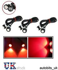 6 PCS CAR BIKE VAN 10W RED LED TAIL LIGHT EAGLE EYE DAYTIME RUNNING DRL BACKUP