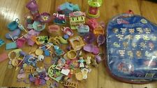 LPS Accessory Lot Mixed Littlest Pet Shop Zipper Bag Hasbro Case
