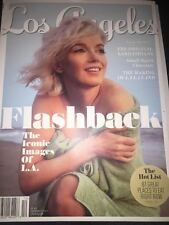 Los Angeles Magazine Iconic Images Marilyn Monroe Cover December 2016 NEW