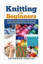 Knitting - Knitting for Beginners - How to Knit - Knitting Patterns -...