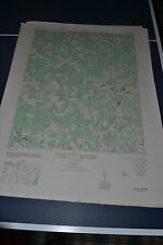 1940's Army topographic map Dabneys Virginia -Sheet 5459 IV SE