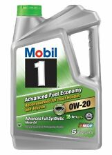 NEW Mobil 1 120844 Advanced Fuel Economy 0W 20 Synthetic Motor Oil  5 Quart