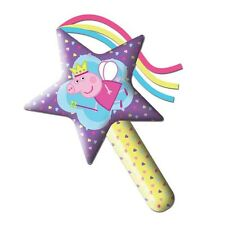 Peppa Pig Inflatable Star Shaped Wand Balloon Toy Purple