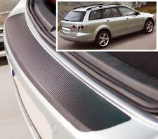 Mazda 6 MK1 Estate- Carbon Style rear Bumper Protector