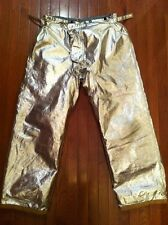 "NEW MORNING PRIDE LT0764BPS Proximity Pants PBI Turnout Gear 36x34"" Bunker"
