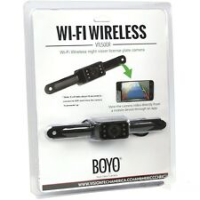BOYO Vision VTL500R Universal Wireless WIFI Backup Plate Camera with Nightvision