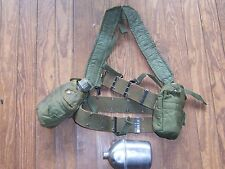 US Army Field Gear Lot Belt Suspenders Cover SMCO  WW2 Canteen