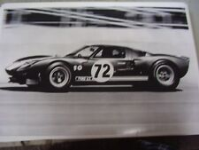 FORD SHELBY GT 40 RACE CAR    12 X 18 LARGE PICTURE   PHOTO